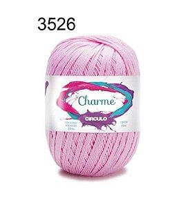 Linha Charme Cor 3526 Rosa Candy 396 Metros