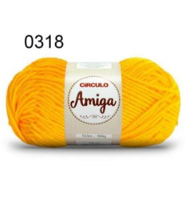 Lã Amiga Cor 0318 Gema 100 Gramas