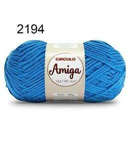 Lã Amiga Cor 2194 Turquesa 100 Gramas
