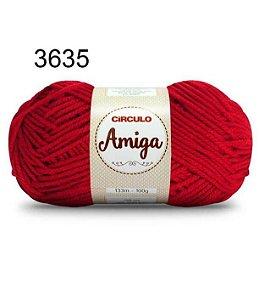 Lã Amiga Cor 3635 Paixão 100 Gramas