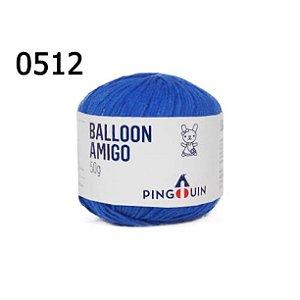 Linha Ballon Amigo Cor 0512 Royal 50 Gramas 150 Metros