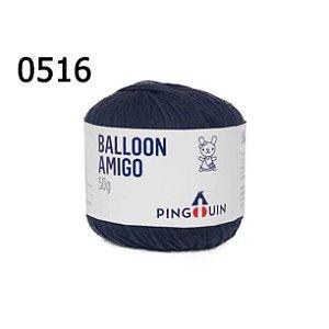 Linha Ballon Amigo Cor 0516 Naval 50 Gramas 150 Metros