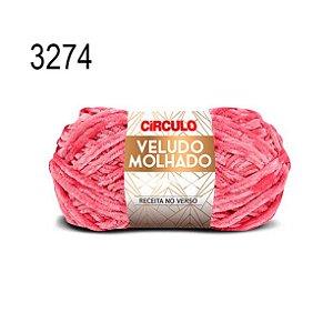 Lã Veludo Molhado Cor 3274 Cigana 100 Gramas