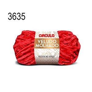 Lã Veludo Molhado Cor 3635 Paixão 100 Gramas