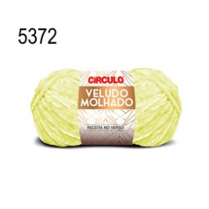 Lã Veludo Molhado Cor 5372 Vaga 100 Gramas