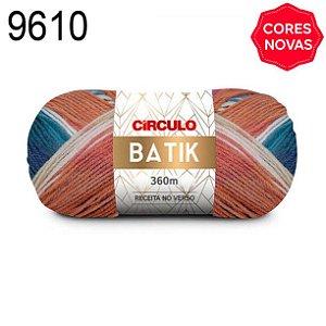 Lã Batik Cor 9610 Sereno 100 Gramas 360 Metros
