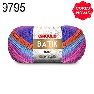 Lã Batik Cor 9795 Ciranda 100 Gramas 360 Metros