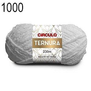Lã Ternura Cor 1000 Branca 100 Gramas 230 Metros
