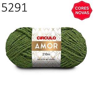 Lã Amor Cor 5291 Babosa 100 Gramas 210 Metros