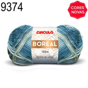 Lã Boreal Cor 9374 Sonho 100 Gramas 135 Metros