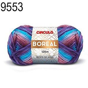 Lã Boreal Cor 9553 Amor Perfeito 100 Gramas 135 Metros