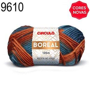 Lã Boreal Cor 9610 Sereno 100 Gramas 135 Metros