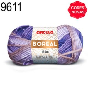 Lã Boreal Cor 9611 Graciosa 100 Gramas 135 Metros