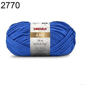 Lã Âme Cor 2770 Azul Bic 100 Gramas 115 Metros