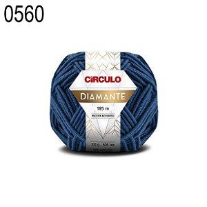 Lã Diamante Cor 0560 Azul Celeste 100 Gramas 165 Metros