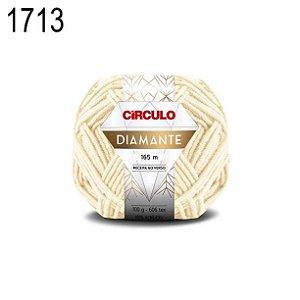 Lã Diamante Cor 1713 Trigo 100 Gramas 165 Metros