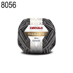 Lã Diamante Cor 8056 Edifício 100 Gramas 165 Metros