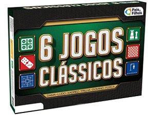 Kit 6 Jogos Clássicos 2759 Pais & Filhos