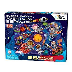 Quebra Cabeça Aventura Espacial 28 Peças Gigantes 10796 Pais & Filhos