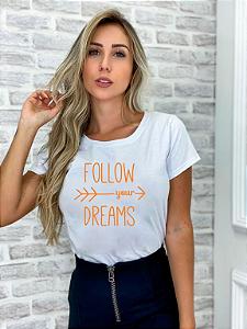 T-SHIRT FOLLOW YOUR DREAMS