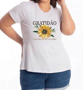 T-SHIRT PLUS GRATIDÃO