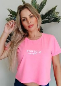CROPPED PINK NEON PERFECTLY