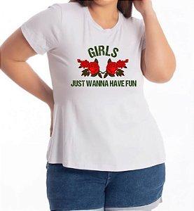T-SHIRT  PLUS GIRLS JUST