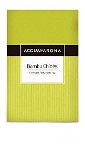 Envelope Mineral Perfumado Acqua Aroma  12g Bambu Chinês
