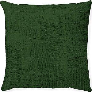 Capa Almofada Veludo Texturizado Verde
