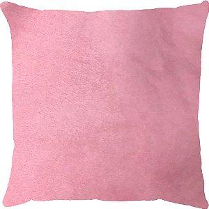 Capa Almofada Veludo Rosa Claro
