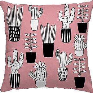 Capa Almofada Cactus Novo Rosê
