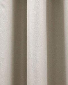 CORTINA BLACKOUT ORQUIDEA 2,30M X 4,00M BEGE/LISO MARFIM