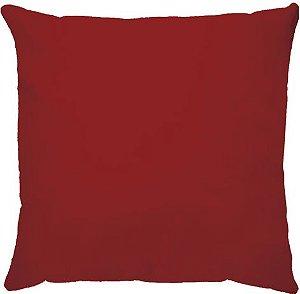 Capa Almofada Veludo Vermelha