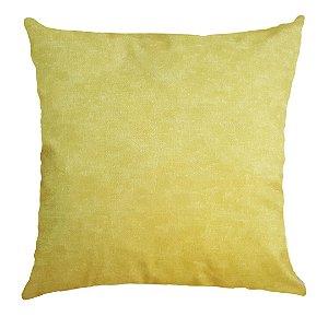 Capa Almofada Veludo Amarelo Velfit