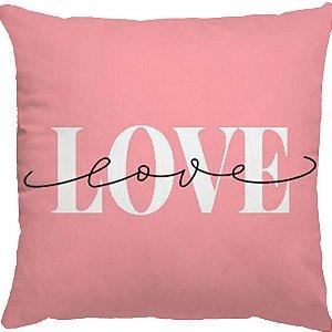 Capa Almofada Love Love Rose