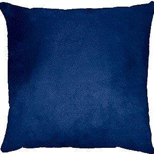 Capa Almofada Suede Azul Marinho