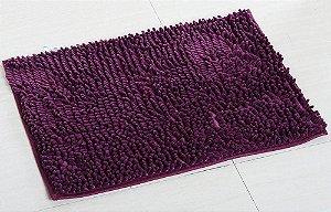 Tapete Microfibra Grande 50 x 70 - Roxo