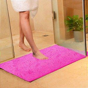 Tapete Microfibra Grande 50 x 70 - Pink