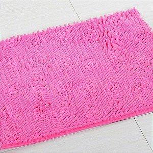 Kit 2 Tapetes Microfibra Pequeno 40 x 60 - Pink