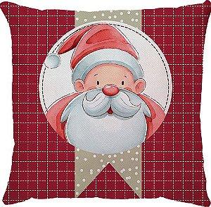 Capa Natal Papai Noel Xadrez