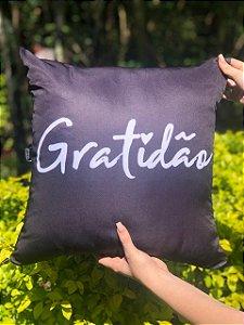 Capa Digital Gratidão Preta Promoção