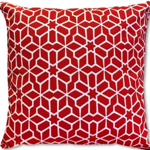 Capa Belize Geometrica Vermelha