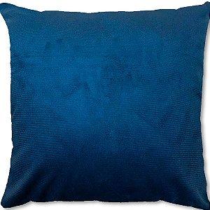 Capa Almofada Veludo Azul Astral