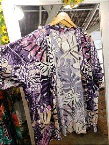Kimono costela roxa