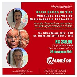 Workshop Exercicios Miofuncionais Orofaciais