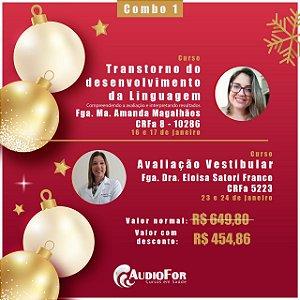 (Combo 1) Transtorno de Desenvolvimento da Linguagem + Avaliação Vestibular