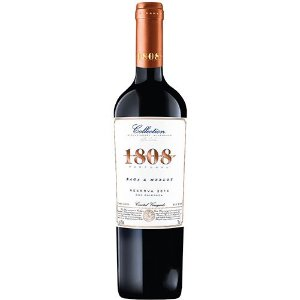 1808 COLLECTION RESERVA BAGA MERLOT 750ML