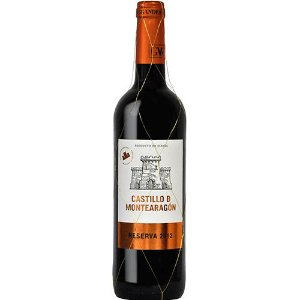 CASTILLO D MONTEARAGON RESERVA 750ML
