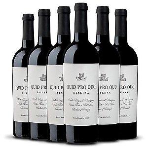Leve 6 Pague 5 - Kit c/ 6 garrafas Casa Santos Lima Quid Pro Quo Reserva 750ml