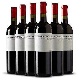 Leve 6 Pague 5 - Kit c/ 6 garrafas Mandrarossa Cabernet Sauvignon 750ml